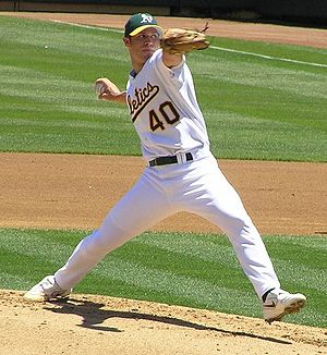 Rich Harden - Harden with the Oakland Athletics