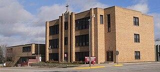 Cedar Catholic High School Private, coeducational school in Hartington, Nebraska, U.S.