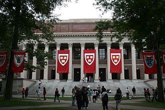 Nina Browne - Widener Library, Harvard University