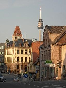 Hauptstraße Stein in Richtung Nordosten