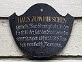 Haus Zum Hirschen plaque.jpg