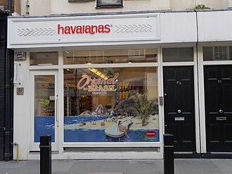 Havaianas - Havaianas store, Neal Street, Covent Garden, London
