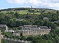 Hebden Bridge - view from Cross Lanes Graveyard - geograph.org.uk - 1435158.jpg