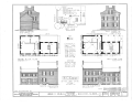 Heber C. Kimball House, Ninth and Munson Streets, Nauvoo, Hancock County, IL HABS ILL,34-NAU,5- (sheet 1 of 3).png