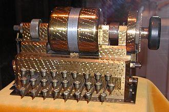Hebern rotor machine - A single-rotor Hebern machine.