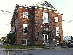 Hébertville-Station, Quebec - Image: Hebertville station 1