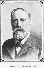 Portrait d'Heinrich Dressel (1845-1920) / CC0 via Wikimedia Commons