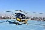 Helicóptero da PRF decola da sede estadual da instituição em Curitiba (36446138143).jpg