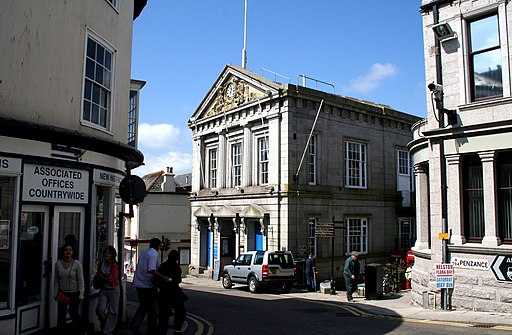 Helston, The Guild Hall - geograph.org.uk - 1824352