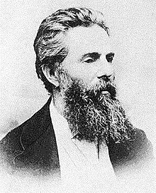"""a biography of the life and literary work of herman melville Keeping to a regular writing schedule, he completed four novels, a collection of short stories, and 10 magazine pieces, as well as beginning work on a volume of poetry the works melville wrote at arrowhead included moby-dick, pierre, the confidence-man, israel potter, a collection entitled """"the piazza tales,"""" and such."""