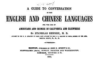 Stanislas Hernisz - A Guide to Conversation 1854
