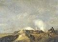 Het beschieten van Naarden, april 1814 Rijksmuseum SK-A-1099.jpeg