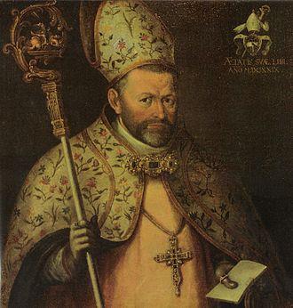 Saint Paul's Abbey, Lavanttal - Abbot Hieronymus Marchstaller, 1629 portrait