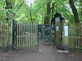 Highgate Wood, Bridge Gate entrance - geograph.org.uk - 1588880.jpg