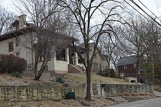 O'Hara Township, Allegheny County, Pennsylvania - Houses on Highland Terrace
