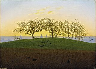 Hill and Ploughed Field near Dresden