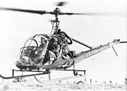 Hiller UH-12 (H-23) bw
