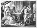 Hipparchia and Crates - Proefsteen van de Trou-ringh - 1638 version.png