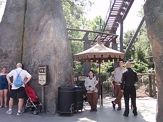Flight of the Hippogriff - Entrance to the attraction.