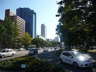 Peace Boulevard (Hiroshima) one of the main streets in Hiroshima, Japan