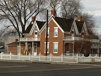 Snowflake, Arizona - Historic Home, Snowflake, Arizona