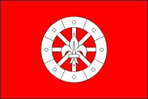 Hladké Životice - Image: Hladké Životice flag