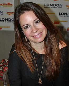 Combs at the London Film and Comic Convention in July 2012