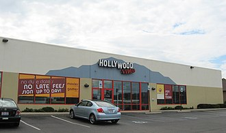 Hollywood Video - Hollywood Video in 2009, with attached Game Crazy location
