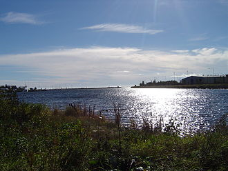 Bothnian Sea - Bothnian Sea at Holmsund in Sweden in September 2004.