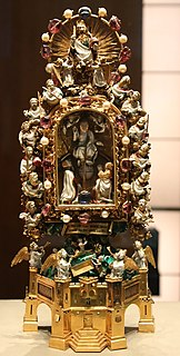 14th-century reliquary made for John, Duke of Berry