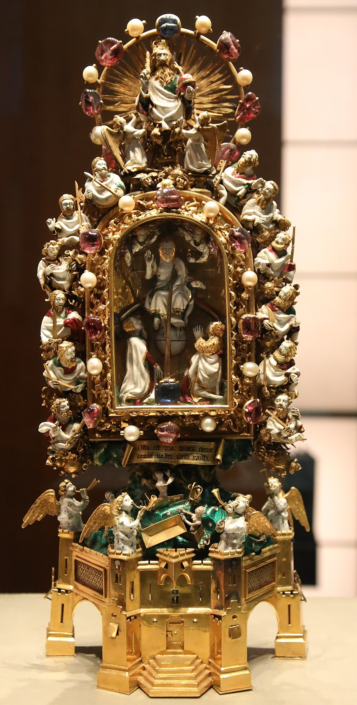 Holy Thorn Reliquary Wikipedia