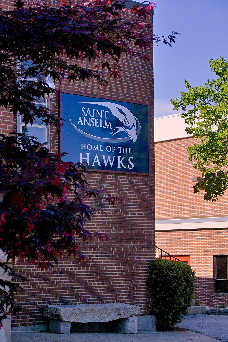 Home of the Hawks gym