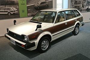 Honda Civic (second generation) - Honda Civic Country