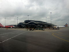 Hong Kong Airport Satellite Terminal Exterior