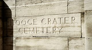 Hooge Crater Commonwealth War Graves Commission Cemetery