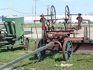 Saskatchewan Western Development Museum - Image: Horse Drawn Scraper