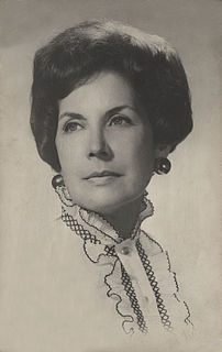 wife of Chilean President Salvador Allende