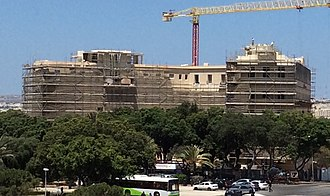 Hotel Phoenicia - Under restoration and construction of another floor