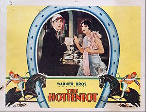 The Hottentot - Lobby card