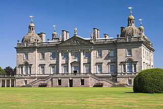 Houghton Hall country house in Norfolk, England