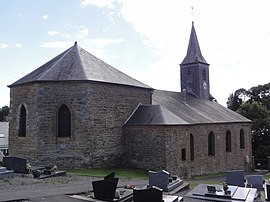 Houldizy (Ardennes) église, chevet.JPG