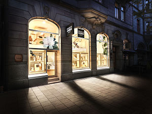 House of Amber - House of Amber opened its first flagship store in Stockholm in mid June 2014.