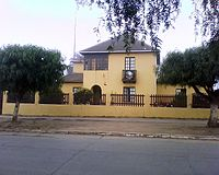 Headquarters of Canal 3 Pichilemu, located in the former José Arraño Acevedo's house, in Pichilemu.