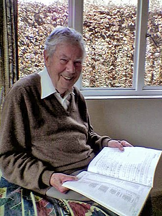 Hugh McGregor Ross - Hugh McGregor Ross, 88 years of age when the photo was taken in January 2006, with a copy of the 1987 Draft Proposal for ISO/IEC 10646
