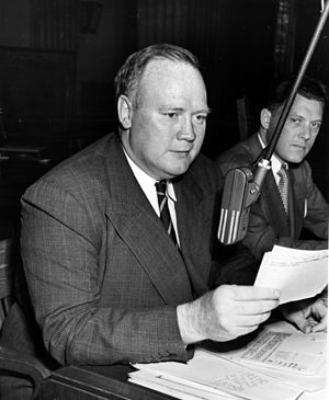 Truman Committee - Hugh Fulton served as chief counsel until August 1944.