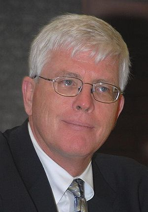 Hugh Hewitt - Hewitt at a book signing session, 2010