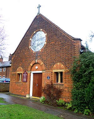 Church of St Hugh of Lincoln, Letchworth - The original church of 1908, now 'Fortescue Hall'