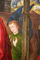Hugo van der Goes, adorazione dei pastori tra due profeti, 1480 ca. 18.JPG