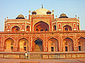 Humayun Tomb, Delhi, stairs leading to the main platform.jpg