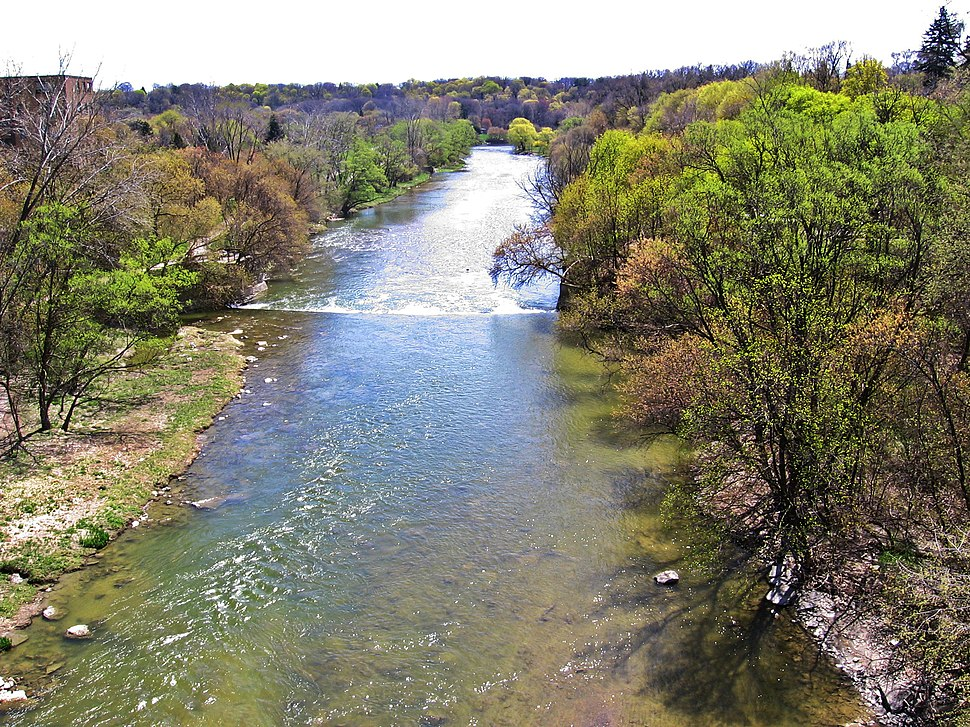 Humber River from the Dundas Street Bridge